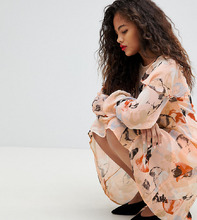 Y.A.S. | Платье А-силуэта с принтом Y.A.S Tall - Мульти | Clouty