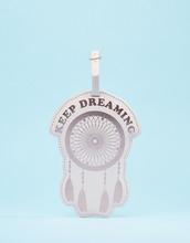 TYPO | Багажная бирка Typo Dreaming - Розовый | Clouty