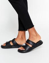 NIKE | Сандалии Nike Benassi Duo - Черный | Clouty