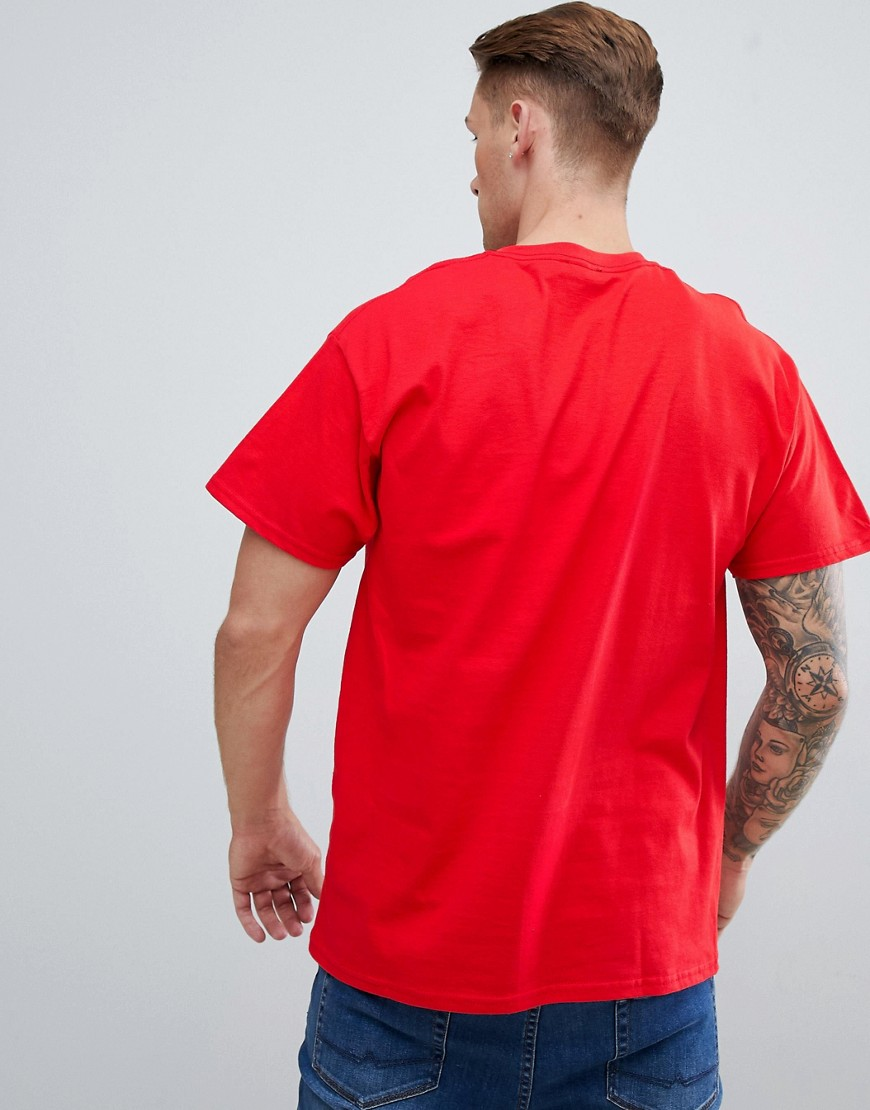 New Look | Красная футболка с принтом Brooklyn New Look - Красный | Clouty