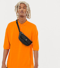 Collusion   Оранжевая футболка-поло в стиле oversize COLLUSION - Оранжевый   Clouty