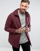 ASOS   Легкая бордовая куртка-парка ASOS - Красный   Clouty