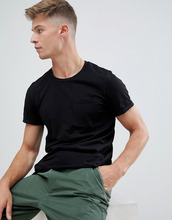 Produkt | Базовая футболка с карманом Produkt - Черный | Clouty