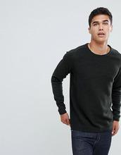 Selected Homme | Джемпер в рубчик из 100% органического хлопка Selected Homme - Серый | Clouty