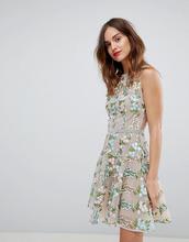 Bronx And Banco   Платье мини с вышивкой Bronx & Banco - Мульти   Clouty