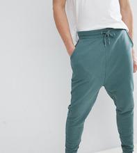 ASOS | Зеленые выбеленные джоггеры с заниженным шаговым швом ASOS DESIGN Tall | Clouty