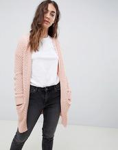 VERO MODA | Кардиган крупной вязки Vero Moda - Розовый | Clouty