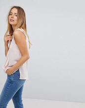 VERO MODA | Блузка без рукавов с запахом Vero Moda - Розовый | Clouty