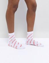 ASOS | Носки с надписью ASOS DESIGN - Белый | Clouty