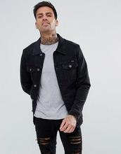 Pull & Bear   Черная джинсовая куртка Pull&Bear - Черный   Clouty
