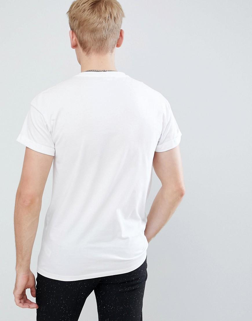 New Look | Белая футболка с вышивкой New Look - Белый | Clouty
