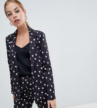 Fashion Union | Блейзер с принтом Fashion Union petite - Черный | Clouty