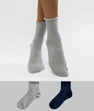 ASOS | 2 пары носков ASOS DESIGN - Красный | Clouty