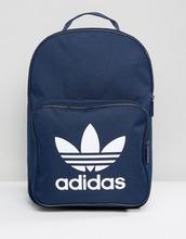 adidas Originals   Темно-синий рюкзак с трилистником и передним карманом adidas Originals   Clouty