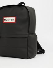 Hunter | Черный прорезиненный рюкзак Hunter Original - Черный | Clouty