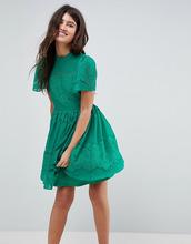 ASOS | Кружевное платье мини ASOS - Зеленый | Clouty