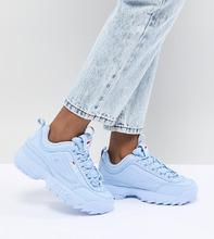 FILA | Синие кроссовки Fila Disruptor - Синий | Clouty