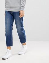DR DENIM | Укороченные джинсы с необработанным низом Dr Denim Otis - Синий | Clouty