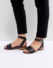 H By Hudson | Кожаные сандалии H by Hudson - Черный | Clouty