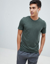 Selected Homme | Меланжевая футболка Selected Homme Perfect - Зеленый | Clouty
