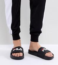 FILA | Черные шлепанцы Fila Drifter - Черный | Clouty