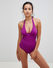 Pour Moi | Слитный купальник Pour Moi Instaglam - Фиолетовый | Clouty