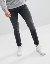 Weekday   Черные супероблегающие джинсы Weekday Form Trotter - Черный   Clouty