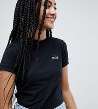 NIKE | Футболка с вышитым логотипом Nike - Черный | Clouty