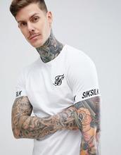 Siksilk | Белая футболка SikSilk - Белый | Clouty