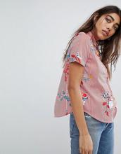 Noisy May | Рубашка с цветочным принтом Noisy May - Мульти | Clouty