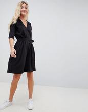 Blend She | Платье с запахом Blend She - Черный | Clouty