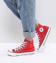 CONVERSE | Красные высокие кроссовки Converse Chuck Taylor - Красный | Clouty