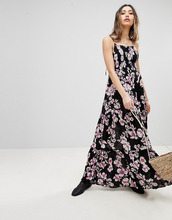Free People | Платье макси Free People Garden Party - Серый | Clouty
