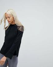 AllSaints | Кружевной топ AllSaints Jay - Черный | Clouty