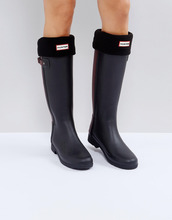 Hunter | Черные толстые носки Hunter Original - Черный | Clouty