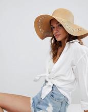 ASOS | Соломенная шляпа регулируемого размера с широкими полями ASOS | Clouty
