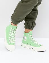CONVERSE | Зеленые высокие кроссовки Converse Chuck Taylor All Star '70 - Зеленый | Clouty