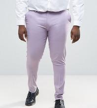 ASOS | Светло-фиолетовые супероблегающие брюки в строгом стиле ASOS PLUS | Clouty