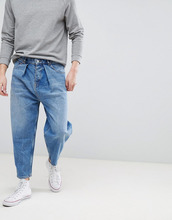 ASOS | Выбеленные синие джинсы ASOS DESIGN - Синий | Clouty
