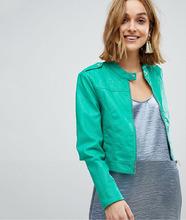 VERO MODA | Байкерская куртка из искусственной кожи Vero Moda - Зеленый | Clouty