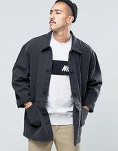 ASOS   Черная джинсовая куртка ASOS DESIGN - Черный   Clouty
