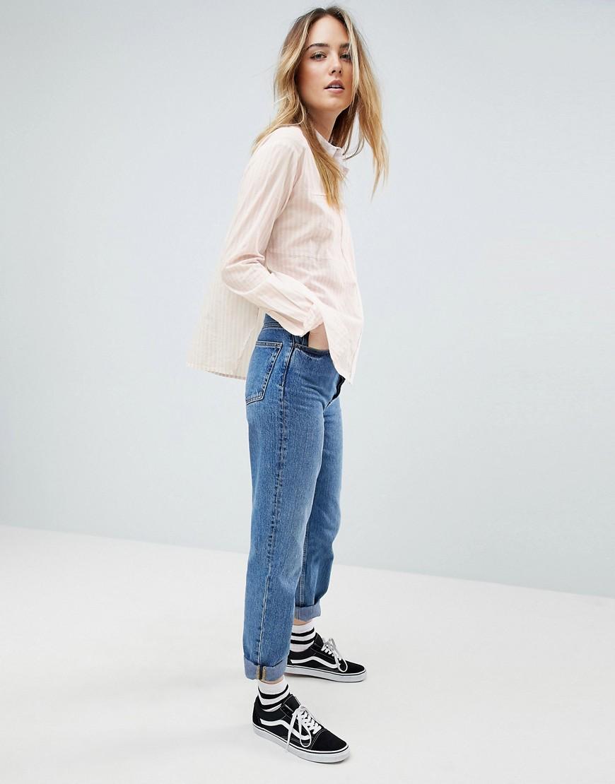 Noisy May | Рубашка в полоску Noisy May Tall - Мульти | Clouty