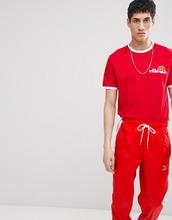 Ellesse   Красная футболка с логотипом на груди ellesse - Красный   Clouty