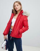 TOMMY Jeans   Пуховая куртка Tommy Jeans - Красный   Clouty