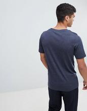 Selected Homme   Футболка с карманом Selected Homme - Темно-синий   Clouty
