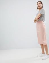 ASOS | Комбинируемая юбка-карандаш ASOS DESIGN - Розовый | Clouty