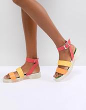 ASOS | Массивные гладиаторские сандалии ASOS DESIGN Fuma - Мульти | Clouty