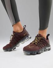 NIKE | Бордовые кроссовки Nike Running Vapormax Utility - Фиолетовый | Clouty
