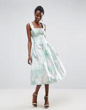 ASOS | Платье миди для выпускного с открытыми плечами ASOS - Мульти | Clouty