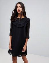 Blend She   Платье из жоржета Blend She Fella - Черный   Clouty